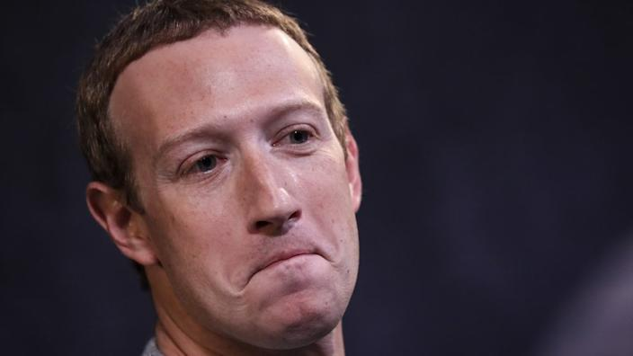 Facebook chief executive Mark Zuckerberg oversees the four most downloaded apps of the decade