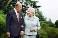 Queen Elizabeth II has been hard hit by the death of Prince Philip, her husband of seven decades