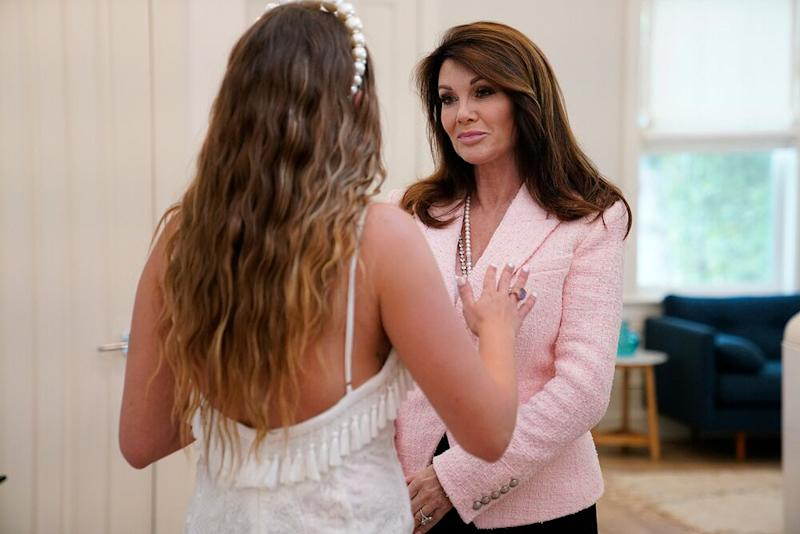 Brittany Cartwright (left) and Lisa Vanderpump