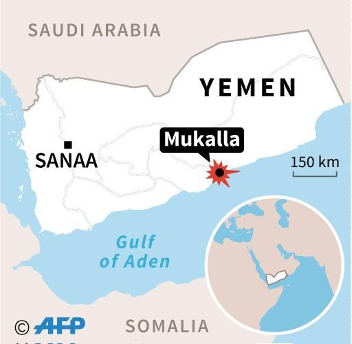 Mukalla, capital of the vast Hadramawt province, remained under Al-Qaeda control for one year before pro-government troops drove jihadists out in April (AFP Photo/AFP)