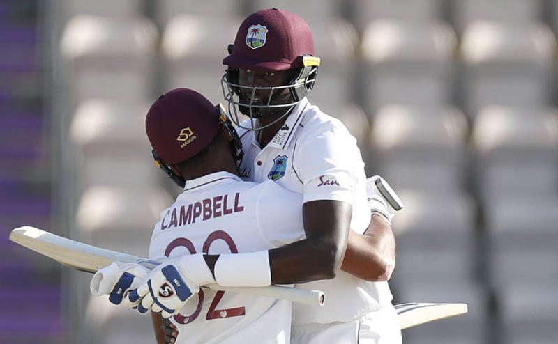 West Indies, on Sunday registered victory in the first Test against England, beating the hosts by 4 wickets, to take 1-0 lead in the first Test.