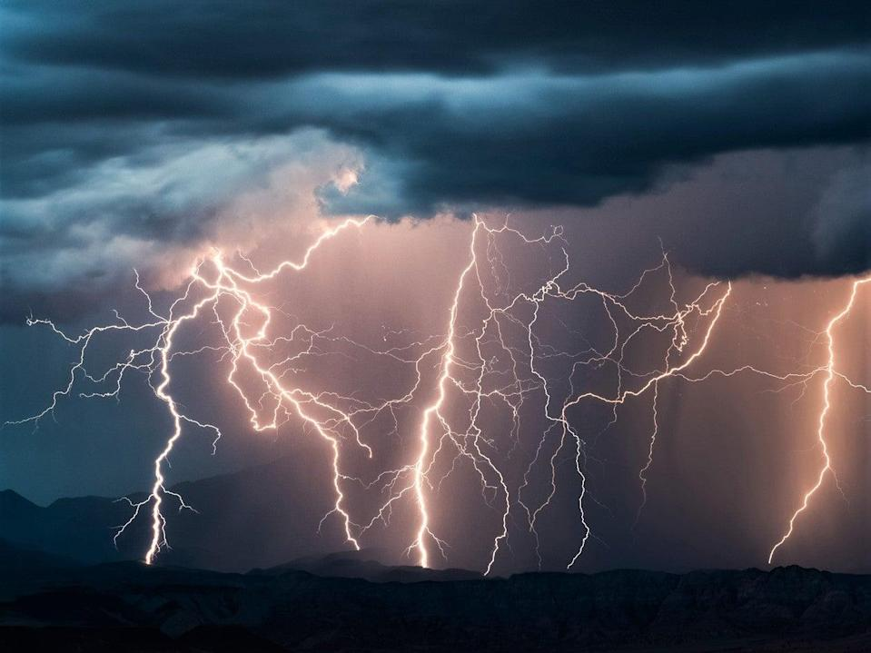 <p>A one degree Celsius increase in temperature would increase the frequency of lightning strikes by 12 per cent, scientists have warned</p> (Getty Images/iStockphoto)