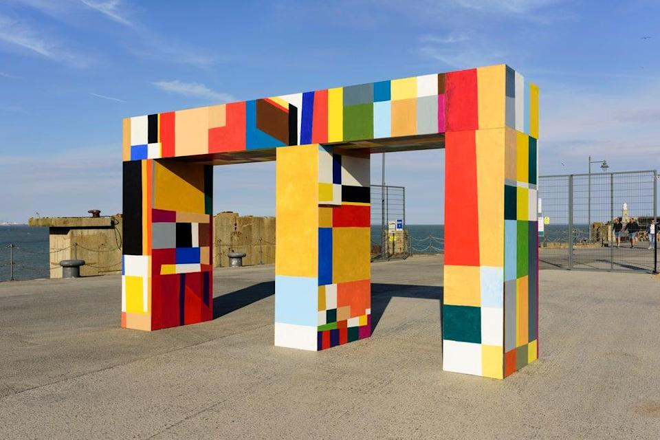 Folkestone Triennial sees new artwork commissioned every three years (Thierry Bal)