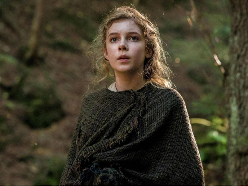 Eleanor Worthington-Cox as Cait in 'Britannia' (Sky UK Ltd)