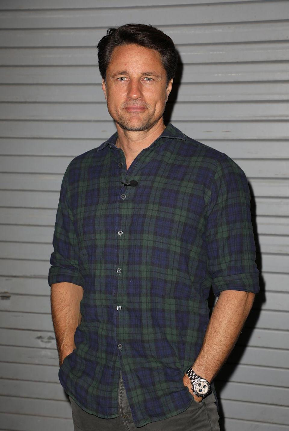 <p>Martin Henderson plays Jack, the charming owner of Virgin River's only bar and restaurant. Jack is a former marine who's battling PTSD and, like Mel, moved to Virgin River years prior looking for a fresh start. He tries hard not to get close to anyone—but Jack's outlook on life begins to change after Mel walks into his bar. </p><p>In real life, Martin is a New Zealand actor with credits on <em>Grey's Anatomy</em>, <em>The Ring</em>, and more. </p>