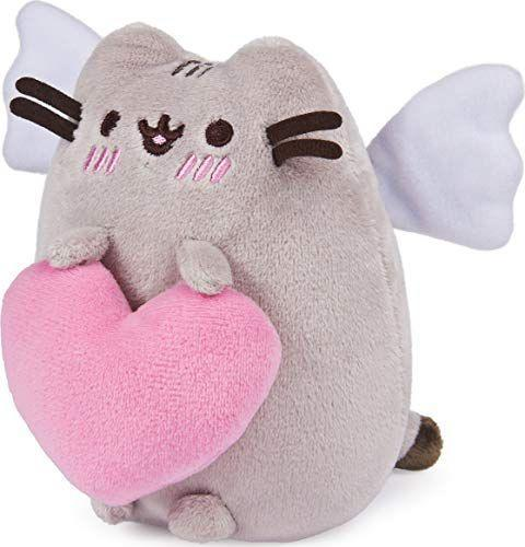 """<p><strong>GUND</strong></p><p>amazon.com</p><p><strong>$14.99</strong></p><p><a href=""""https://www.amazon.com/dp/B08Q2NK44B?tag=syn-yahoo-20&ascsubtag=%5Bartid%7C10063.g.35374113%5Bsrc%7Cyahoo-us"""" rel=""""nofollow noopener"""" target=""""_blank"""" data-ylk=""""slk:Shop Now"""" class=""""link rapid-noclick-resp"""">Shop Now</a></p><p>Giving someone an adorable stuffed animal is a timeless Valentine's Day tradition that is 100x better than flowers or candy because it lasts longer and you can't exactly cuddle with food or plants. GUND has a bunch of cuties to pick from, but this squishy angel cat is definitely the winner.</p>"""