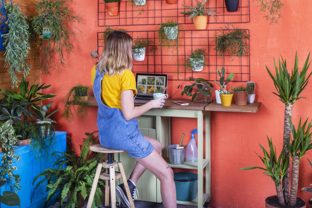 People have been turning to gardening to help their mental wellbeing during lockdown. (Getty Images)