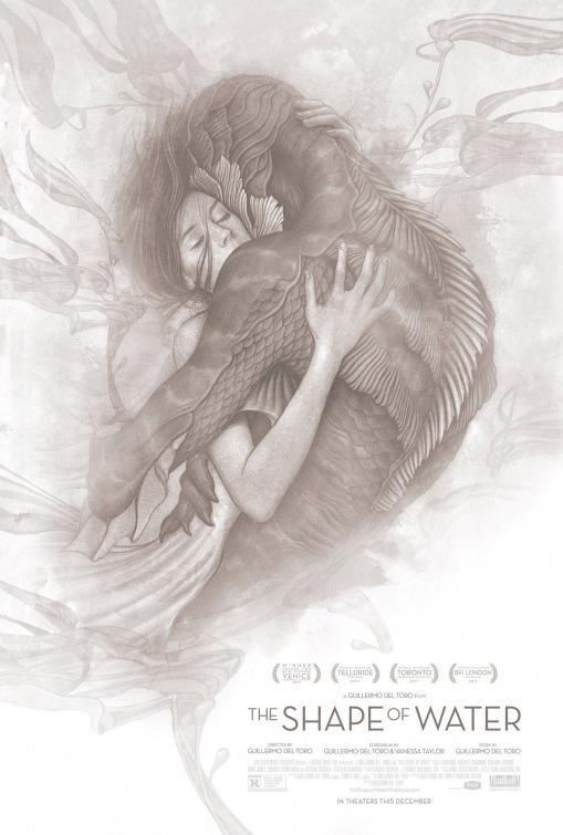 <p>It's only appropriate that the poster for Guillermo del Toro's swoon-inducing interspecies love story features an image fit for the cover of a fairy-tale romance. </p>