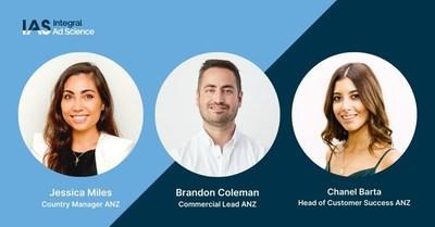 Integral Ad Science Expands Business Operations in Australia and New Zealand, Makes Senior Appointments