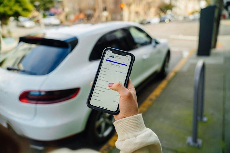 The Turo app lets users rent out their car to travelers.