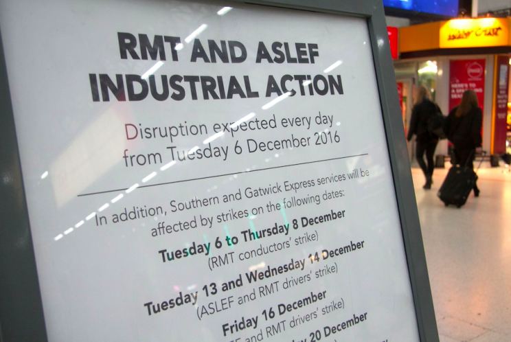 Misery: Commuters have faced months of delays and cancellations (Rex)