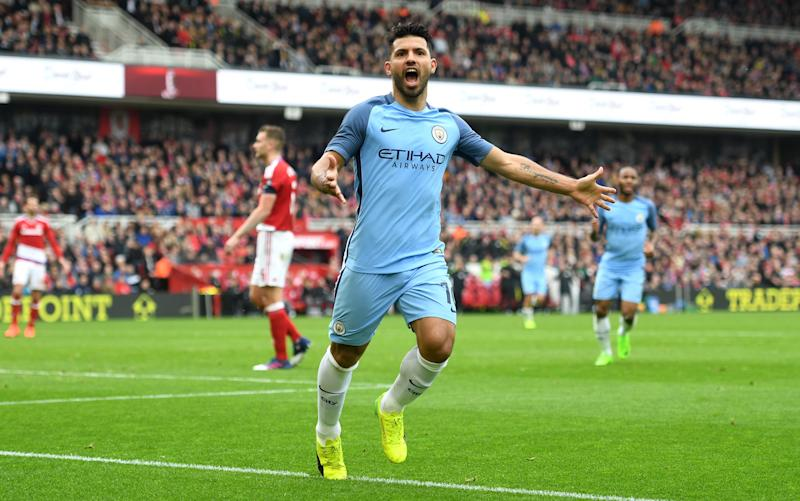 Sergio Aguero - Credit: Getty images