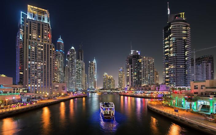 Dubai is famed for its nightlife – and is one of the few places that allowed it to return last year - Getty