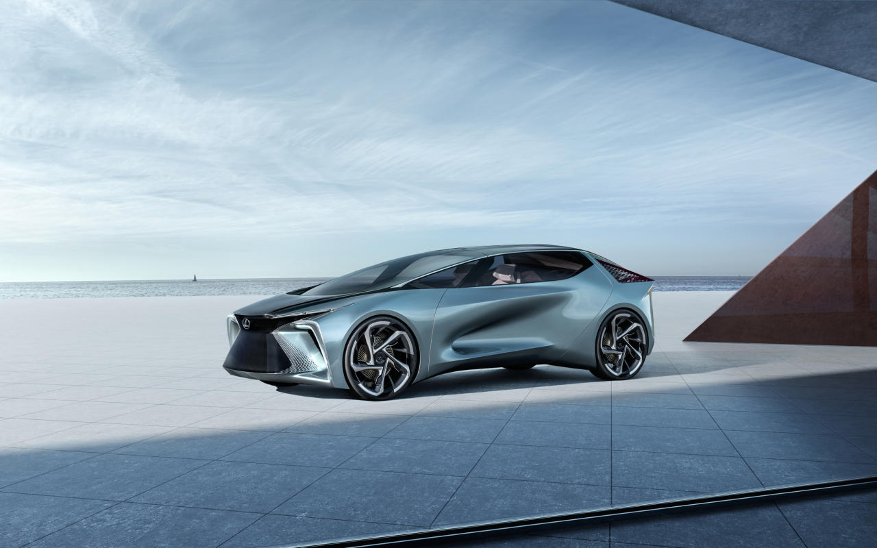 <p><strong>Managing Editor Greg Rasa:</strong> Someone said this car looks like a doorstop — if so, it must prop open the door to the future. I think it looks cool, like a LexusLC that's been fitted with warp drive. It packs 536 horsepower and a 110 kWh battery, so if Lexus brings anything remotely like this to market, it'll enter the EV derby in a big way.</p> <p><strong>Senior Editor, Green, John Snyder:</strong> Elegant and loaded with tech, Lexus looks like it intends to make a driver's car for the EV set. Based on Lexus' current offerings and the vision put forth here, I can't wait to see what makes it to production.</p> <p><strong>Senior Producer Chris McGraw:</strong> It doesn't look it from the photos, but this Lexus is big and beautiful, and shows that they're actually going to get into the EV game. The design language is a bit too futuristic for me, but that's exactly what they were going for, and 2030 will be here before we know it.</p>