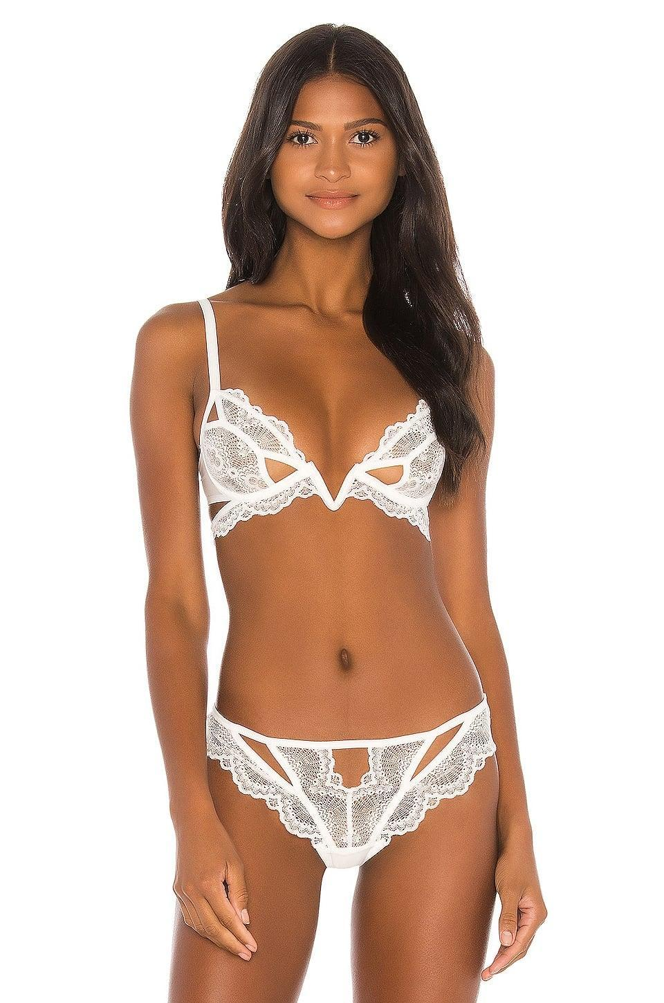 <p>With a cute design and style, this <span>Thistle and Spire Kane Cutout V Wire Bra</span> ($62) will stand out in your lingerie drawer.</p>