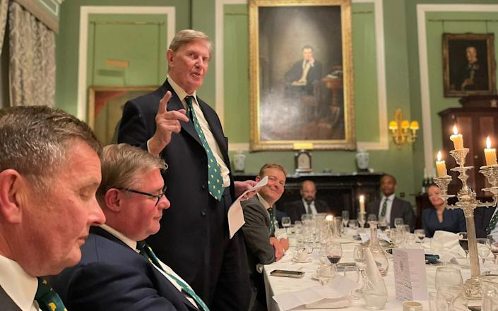 Sir Bill Cash thanks the Brexit rebels for 'staying strong'
