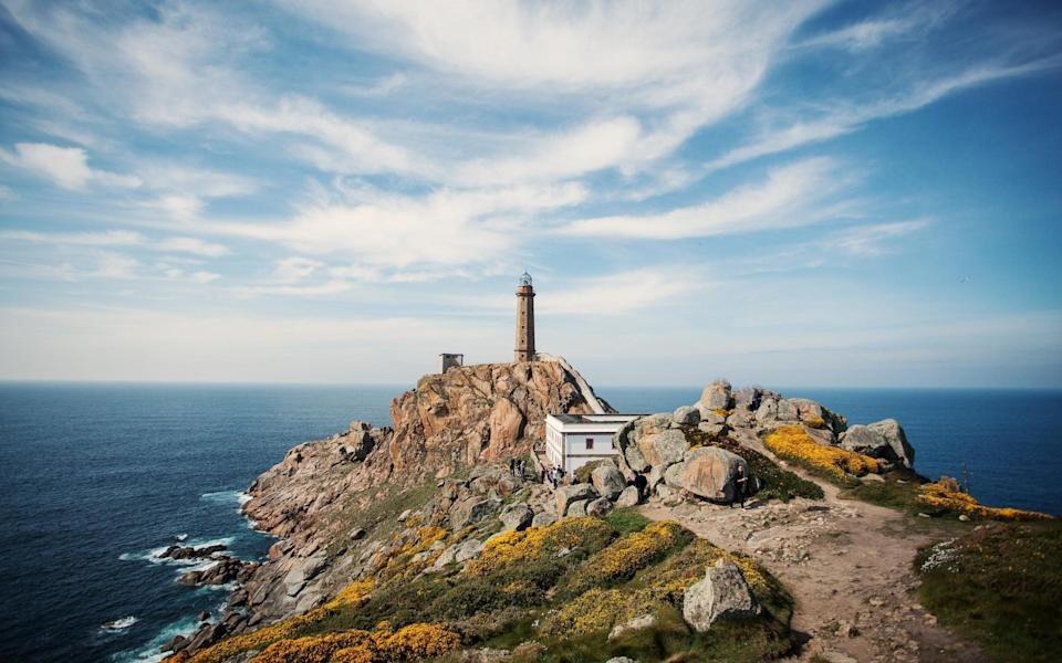 The lighthouse in Camarinas, Galicia - Getty