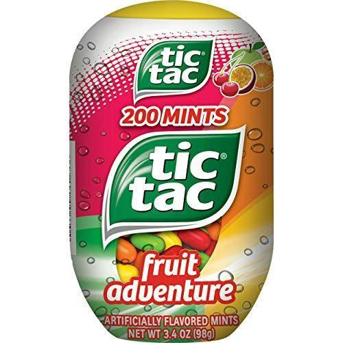 """<p><strong>Tic Tac</strong></p><p>amazon.com</p><p><strong>$17.16</strong></p><p><a href=""""https://www.amazon.com/dp/B00FQS6FC8?tag=syn-yahoo-20&ascsubtag=%5Bartid%7C10070.g.2201%5Bsrc%7Cyahoo-us"""" rel=""""nofollow noopener"""" target=""""_blank"""" data-ylk=""""slk:SHOP NOW"""" class=""""link rapid-noclick-resp"""">SHOP NOW </a></p><p>Tic Tac's sweet seasonal flavors of are the perfect gift for an Easter egg hunt or a refreshing Spring treat. </p>"""