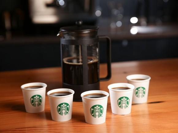 Starbucks French press coffee