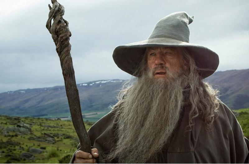 """<a href=""""https://www.spirithalloween.com/product/adult/mens/all-mens/adult-gandalf-costume-lord-of-the-rings/pc/682/c/683/sc/4255/47496.uts?currentIndex=312&thumbnailIndex=333"""" target=""""_blank"""">Get the look</a>."""