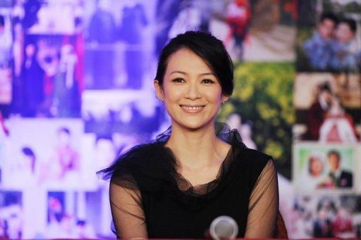 Chinese actress Zhang Ziyi