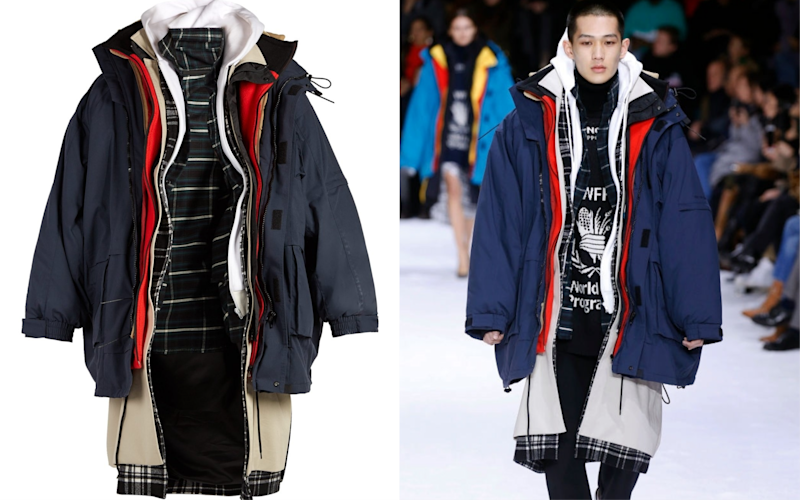 58ad5d922038c Balenciaga is selling a seven-layer coat for £6