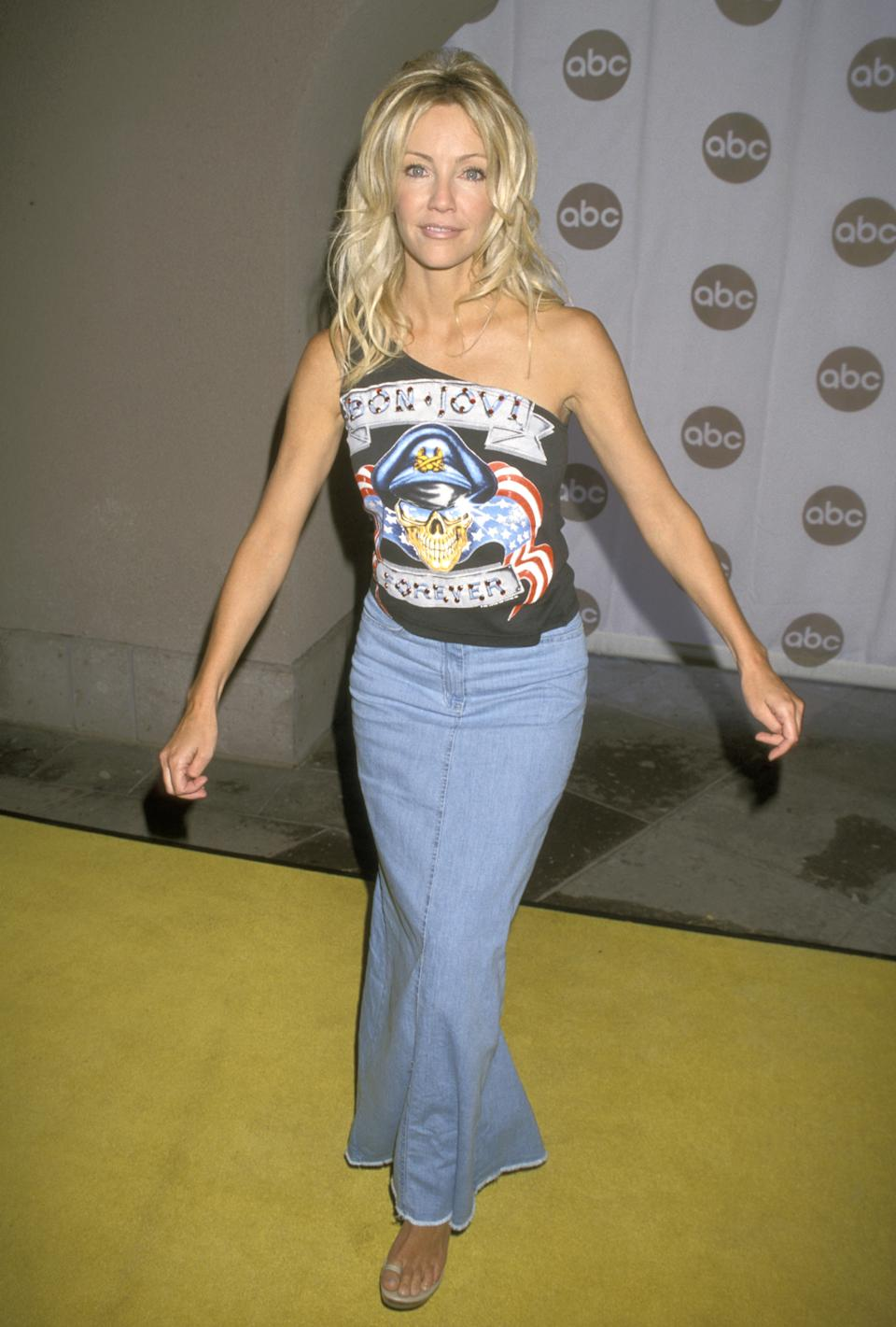 Heather Locklear during 2000 ABC Summer Press Tour at Ritz Carlton Hotel in Pasadena, California, United States. (Photo by Ron Galella/Ron Galella Collection via Getty Images)