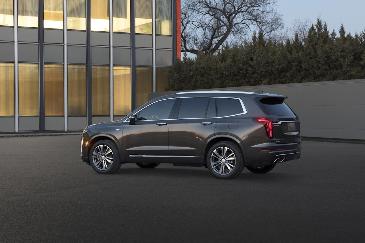 America's premier luxury automotive brand is on a product offensive, and this three-row family-schlepping crossover is part of that. Because of its high roof, the XT6 provides class-leading headroom, even for passengers in the wayback.