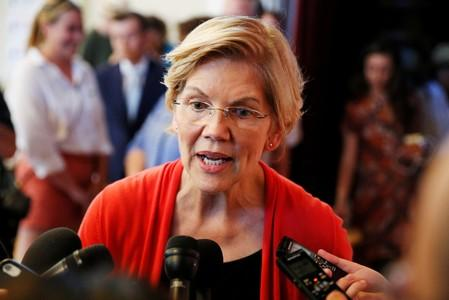 U.S. Democratic candidate Warren targets private equity in new Wall Street proposals