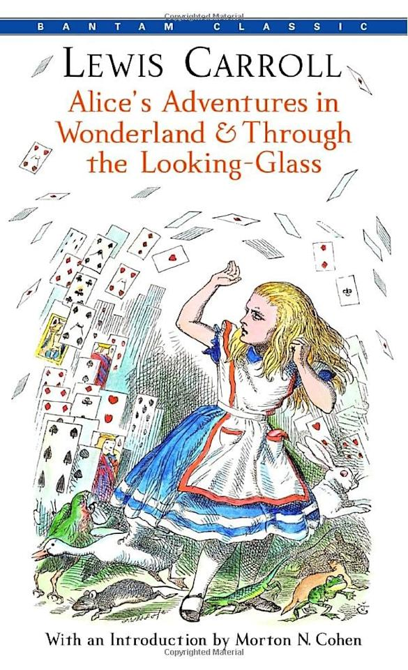 """<p><product href=""""https://www.amazon.com/Adventures-Wonderland-Through-Looking-Glass-Classics/dp/0553213458/ref=sr_1_1?dchild=1&amp;keywords=alice+in+wonderland&amp;qid=1598563661&amp;s=books&amp;sr=1-1"""" target=""""_blank"""" class=""""ga-track"""" data-ga-category=""""internal click"""" data-ga-label=""""https://www.amazon.com/Adventures-Wonderland-Through-Looking-Glass-Classics/dp/0553213458/ref=sr_1_1?dchild=1&amp;keywords=alice+in+wonderland&amp;qid=1598563661&amp;s=books&amp;sr=1-1"""" data-ga-action=""""body text link""""><b>Alice's Adventures in Wonderland &amp; Through the Looking-Glass</b></product> ($6) by Lewis Carroll was my first favorite novel, and it never disappoints me. The storytelling is masterful, and if you think this is going to be a fluffy Disney book, think again. It is iconic and timeless, and I could always pick it up.</p>"""