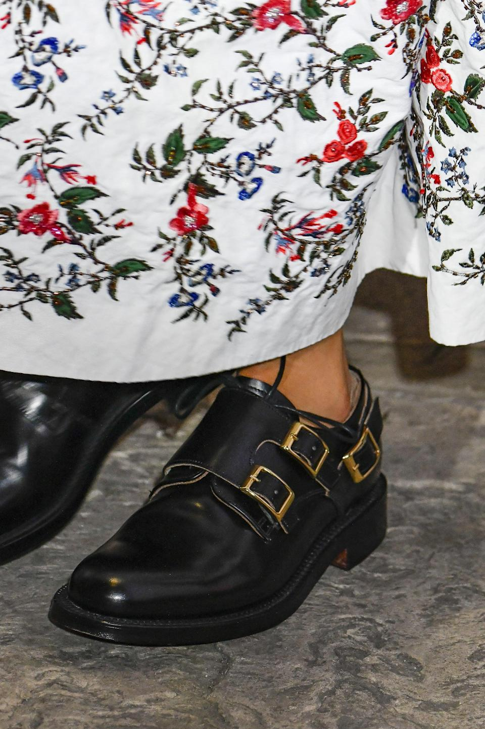 <p>Shoes from Erdem spring 2022 collection.</p>