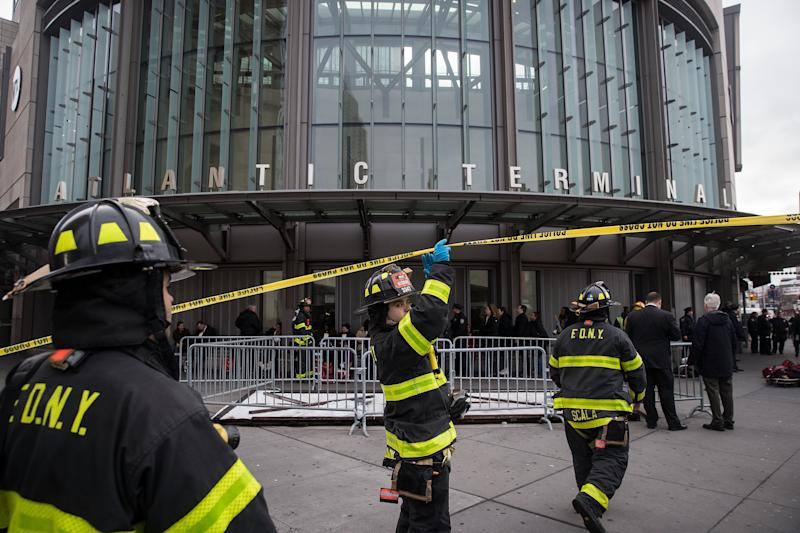 Investigation Into the Brooklyn Train Crash Could Take Days, Officials Say