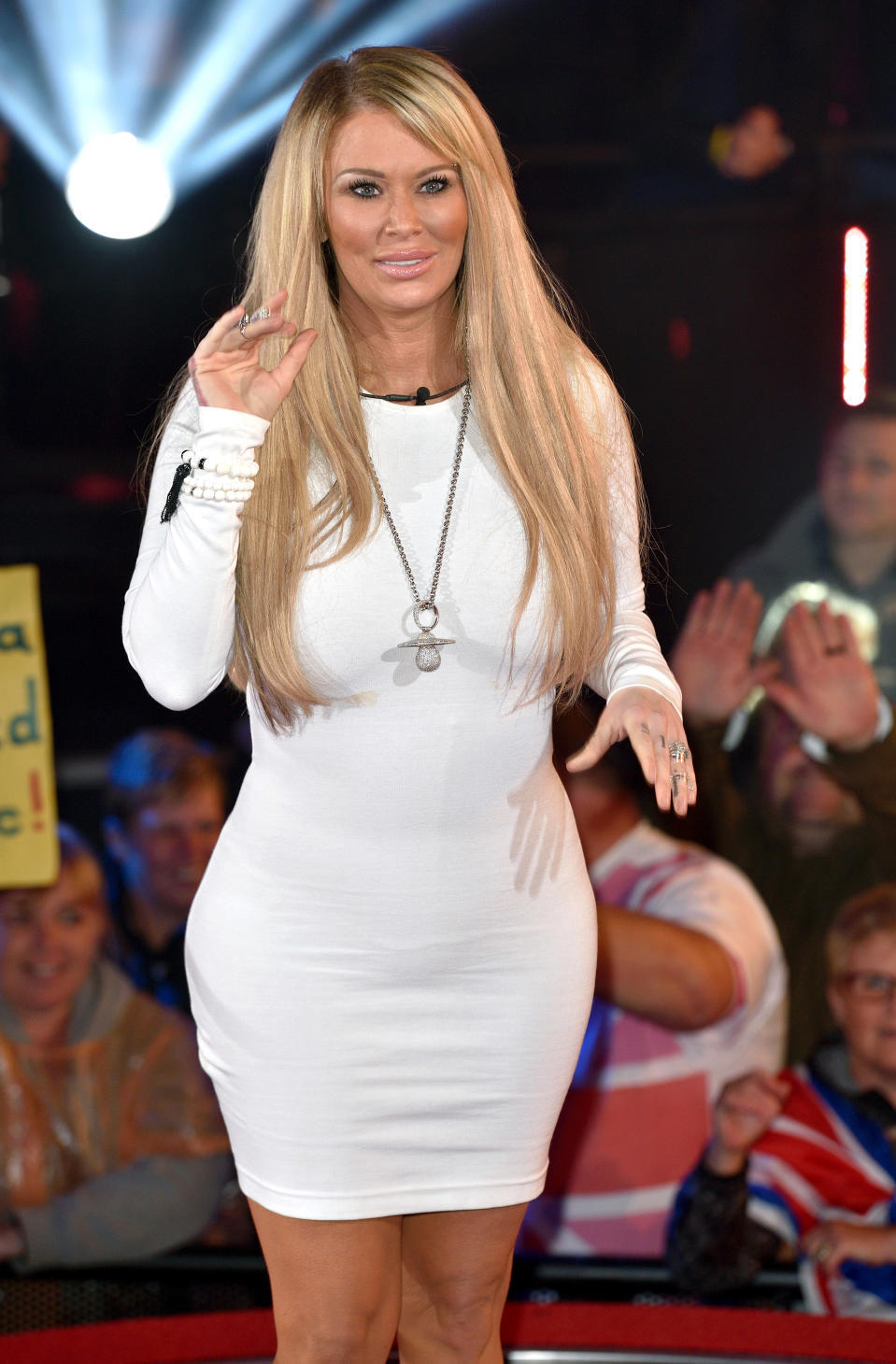 Retired adult film star Jenna Jameson, pictured in 2015, has opened up about her struggle to lose weight after she had her daughter last year. (Photo: Karwai Tang/WireImage)