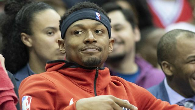 For NBA execs, what the Wizards should do if Bradley Beal becomes eligible for a supermax contract is less about pros and cons, and more about being between a rock and a hard place. Nobody sees this more than Bradley Beal.