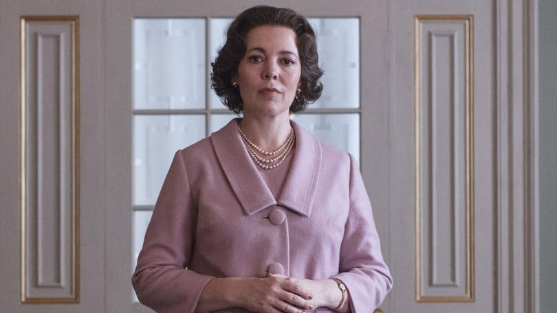 Olivia Colman as the Queen in The Crown (Credit: Netflix)