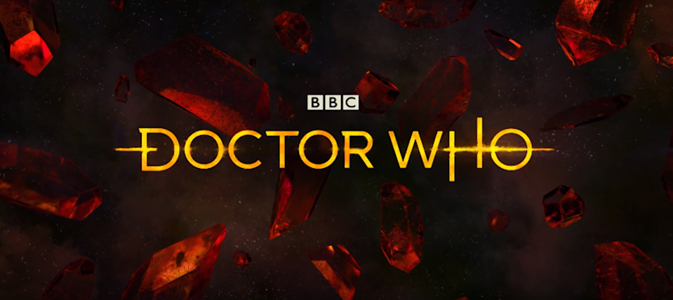 The new Doctor Who logo (BBC One)