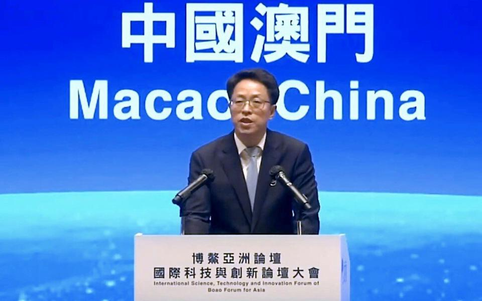 Zhang Xiaoming is deputy director of the Hong Kong and Macau Affairs Office, China's top body overseeing Hong Kong. Photo: SCMP