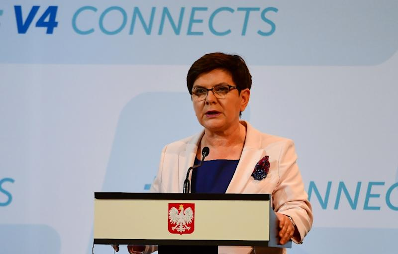 Polish Prime Minister Beata Szydlo said Thursday that she believed her country had the right to demand further reparations from Germany