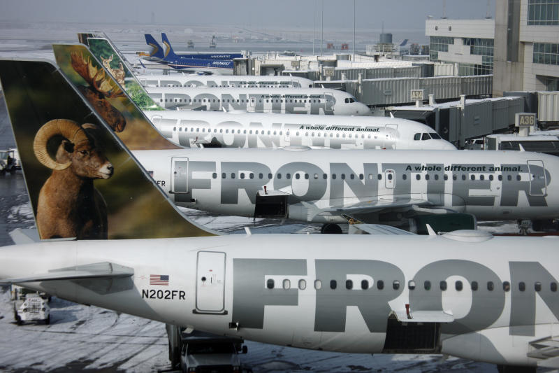 Frontier Airlines now charging for carry-on bags