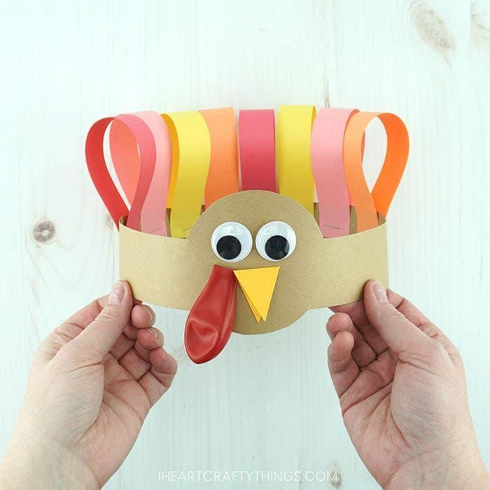 "<p>This supercute project comes with a free template—just print it out, stock up on supplies like red balloons, and get your little turkeys making this headband they'll wear all Thanksgiving day long.</p><p><strong>Get the tutorial at <a href=""https://iheartcraftythings.com/turkey-headband-thanksgiving-craft.html"" rel=""nofollow noopener"" target=""_blank"" data-ylk=""slk:I Heart Crafty Things"" class=""link rapid-noclick-resp"">I Heart Crafty Things</a>.</strong></p><p><a class=""link rapid-noclick-resp"" href=""https://www.amazon.com/gp/product/B0168VV0QW/ref=as_li_ss_tl?tag=syn-yahoo-20&ascsubtag=%5Bartid%7C10050.g.1201%5Bsrc%7Cyahoo-us"" rel=""nofollow noopener"" target=""_blank"" data-ylk=""slk:SHOP RED BALLOONS"">SHOP RED BALLOONS</a><br></p>"