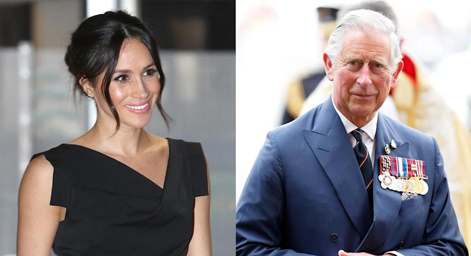 Prince Charles will walk Meghan down the aisle on Saturday 19th May. [Photo: Getty]