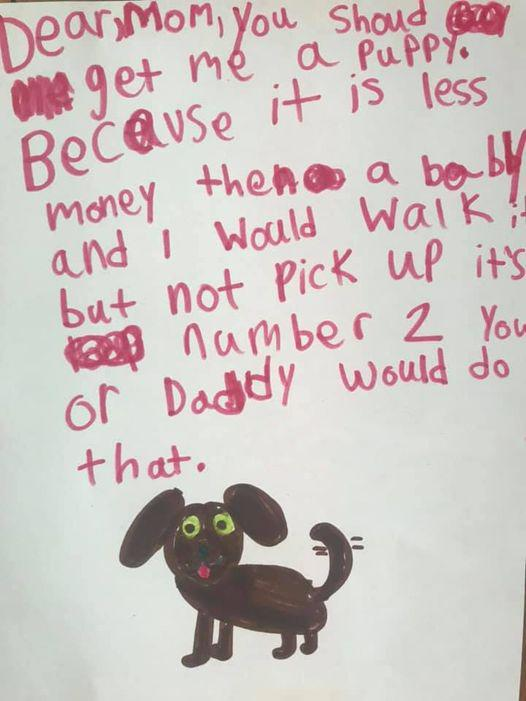 My first-grader wants to add a new category to our Walmart+ search. (Photo: Libby Sentz)