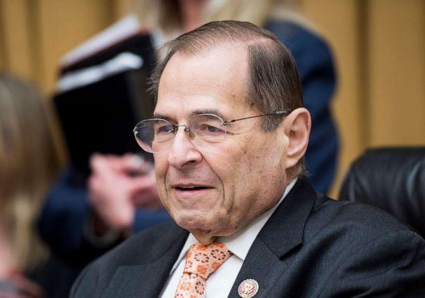 PHOTO: Chairman Jerry Nadler presides over the House Judiciary Committee hearing on 'Oversight of the U.S. Copyright Office' on June 26, 2019 in Washington. (Bill Clark/CQ Roll Call via Newscom)