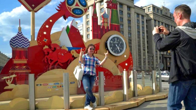 World Cup preparations have Russians getting ready to smile and speak English