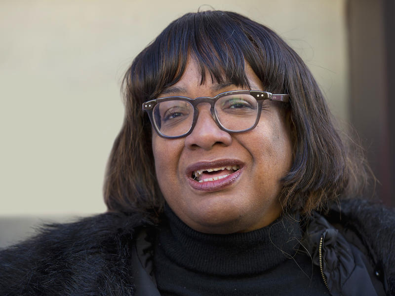 Shadow Home Secretary Diane Abbott: PA