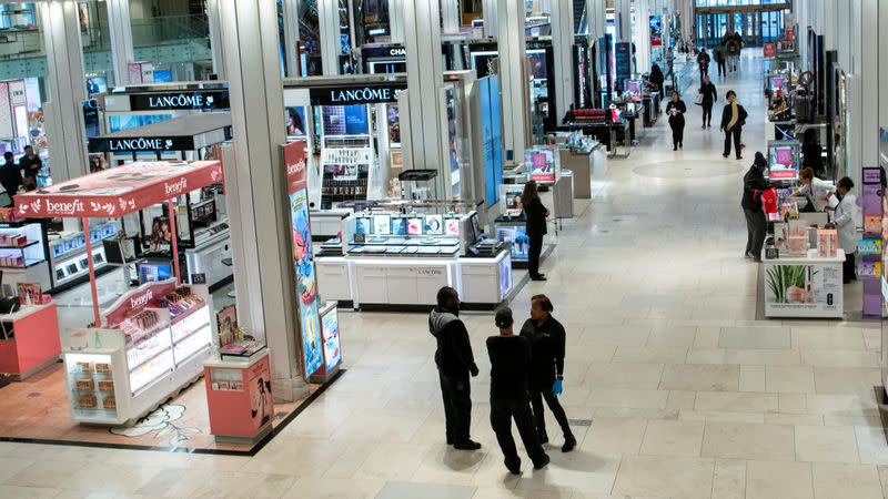 As virus-wary shoppers opt for online purchases, retailers pay the price