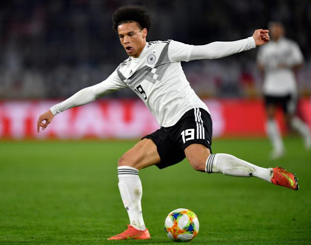 Winger Leroy Sane is one of the focal points for Germany's revitalization going forward. (Associated Press)