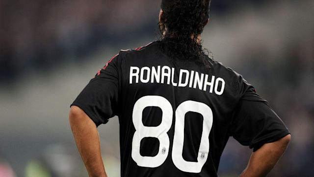 <p>When Brazilian midfield maestro Ronaldinho signed for Milan in 2008, he had an issue. His preferred number of choice, the number 10, was already worn by Clarence Seedorf. </p> <br><p>Instead of insisting on taking Seedorf's number, Ronaldinho chose number 80 - the year of his birth. </p> <br><p>In doing so, Ronaldinho started a trend in Milan of players wearing their birth year as a kit number. Mathieu Flamini chose 84, and Andriy Shevchenko was 76. </p>