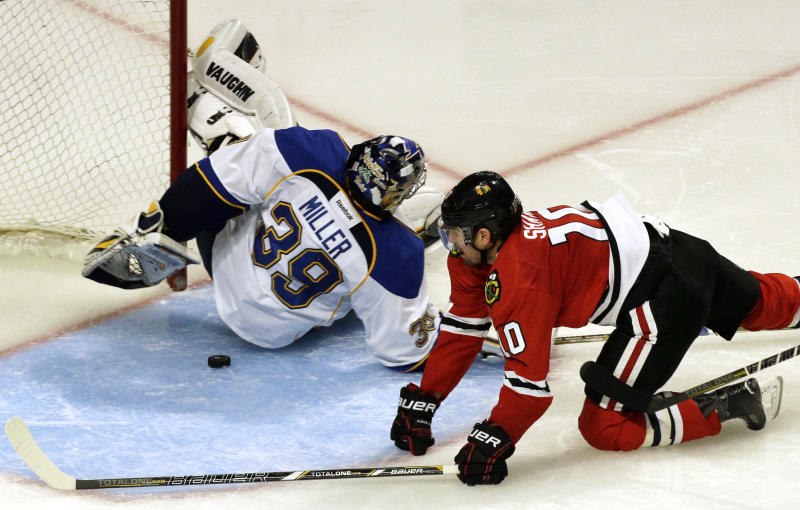 Blackhawks eliminate Blues with Game 6 win