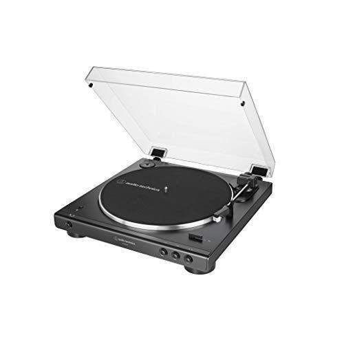 """<p><strong>Audio-Technica</strong></p><p>amazon.com</p><p><strong>$159.00</strong></p><p><a href=""""https://www.amazon.com/dp/B07N3RFXRL?tag=syn-yahoo-20&ascsubtag=%5Bartid%7C2140.g.33902097%5Bsrc%7Cyahoo-us"""" rel=""""nofollow noopener"""" target=""""_blank"""" data-ylk=""""slk:Shop Now"""" class=""""link rapid-noclick-resp"""">Shop Now</a></p><p>Think about who you're buying for. Is he *always* listening to Spotify? Here ya go. This record player connects wirelessly to speakers and is Bluetooth enabled so he can start building up his vinyl collection.</p>"""